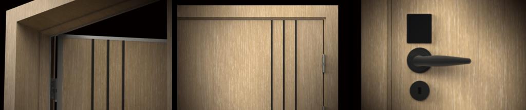 ประตูกันเสียงวิศวกรรม 36 dBฉนวนกันเสียง