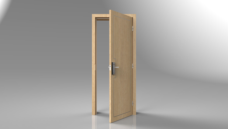 ประตูกันเสียงโรงแรม