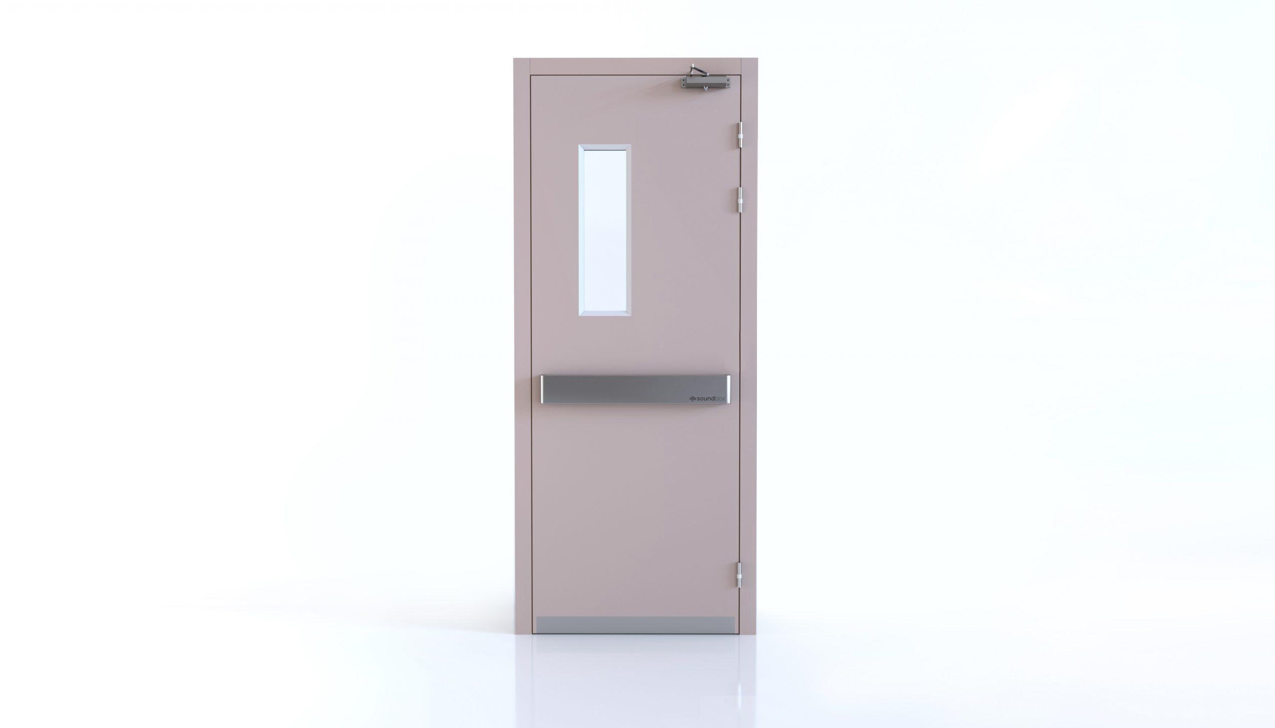 ประตูกันเสียงโรงพยาบาล
